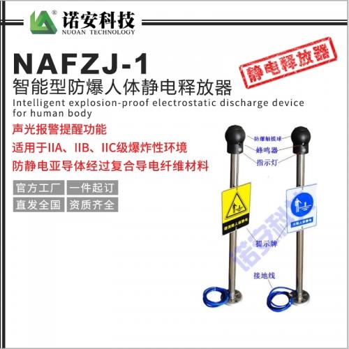 NAFZJ-1智能型防爆人体静电释放器