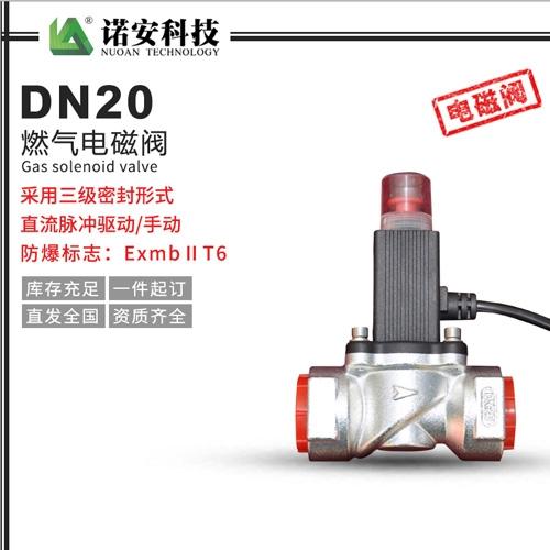 上海DN20燃气电磁阀